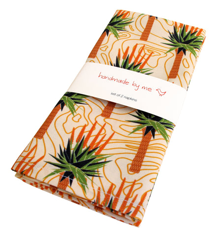 African Aloes Napkins (set of 2)