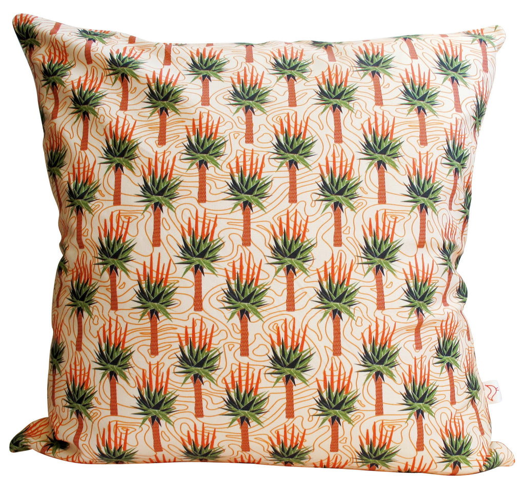 LUX African Aloes Panama Cushion Cover