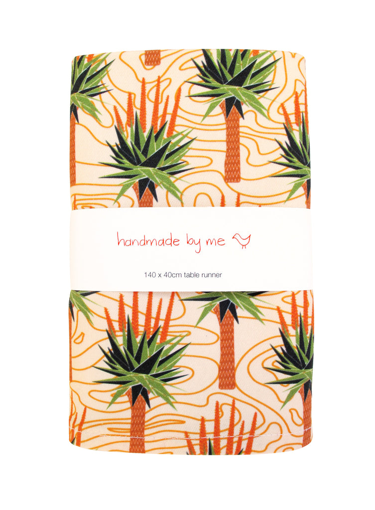 African Aloes Table Runner
