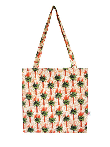 African Aloes Tote Bag