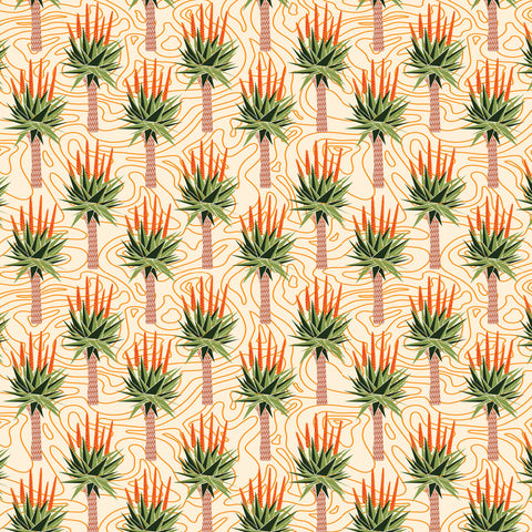 African Aloes Wallpaper