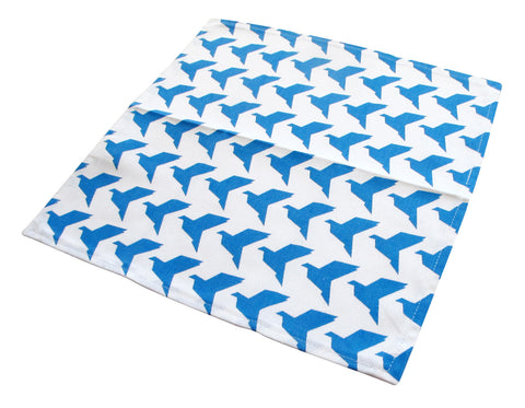 Blue Origami Birds Napkins (set of 2)