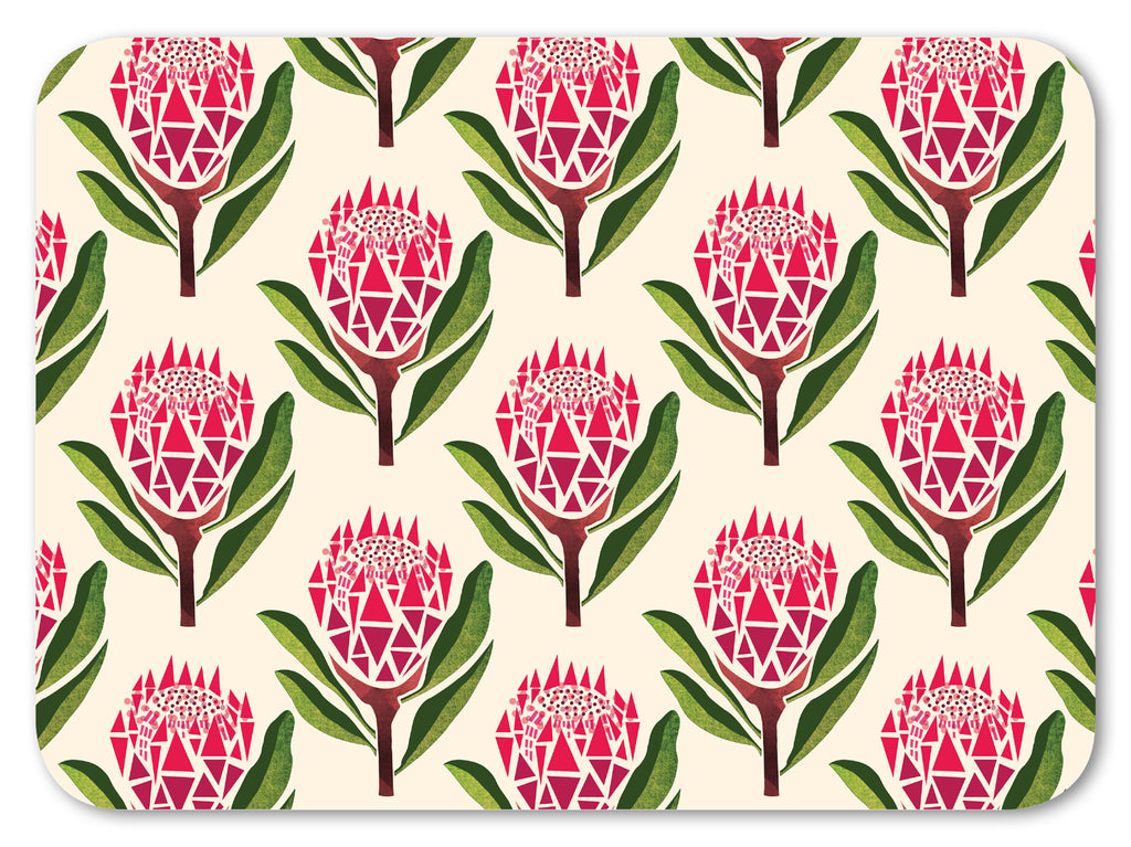 Pretty Proteas Chopping Board