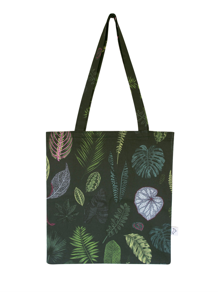 Foliage on Green Tote Bag
