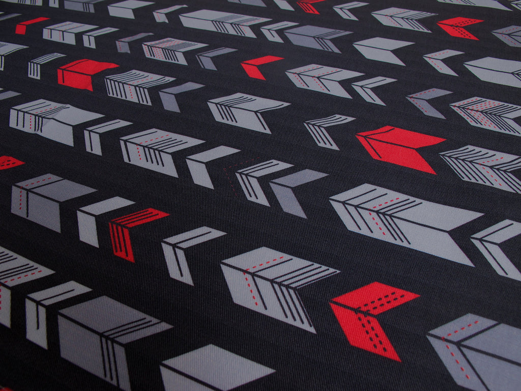 Geometric Arrows Fabric