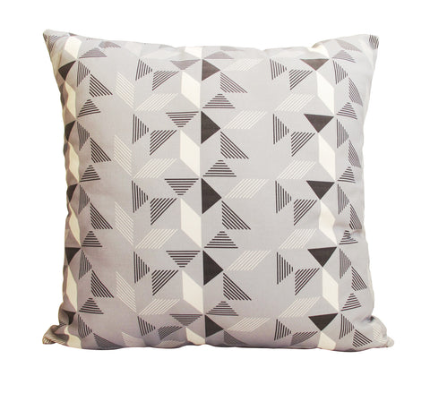 Geometric Grey Cushion Cover (2 for 1 SALE)