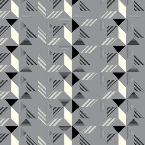 Geometric Grey Wallpaper