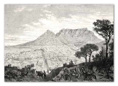 Cape Town Greeting Card with Envelope