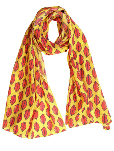 Hot Lips Scarf