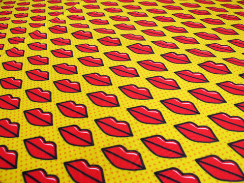 Hot Lips Fabric