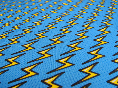 Thunderbolts and Lightning Fabric