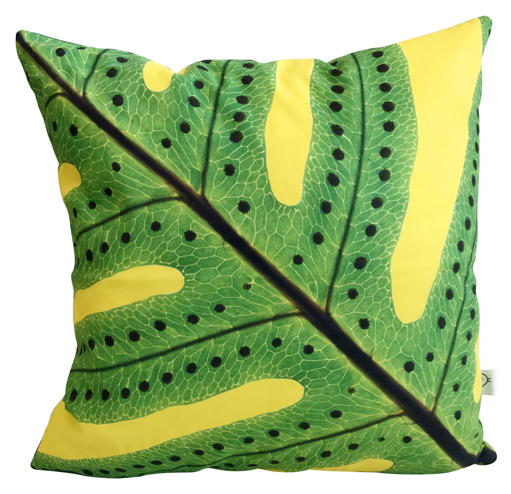 Macro Fern Cushion Cover