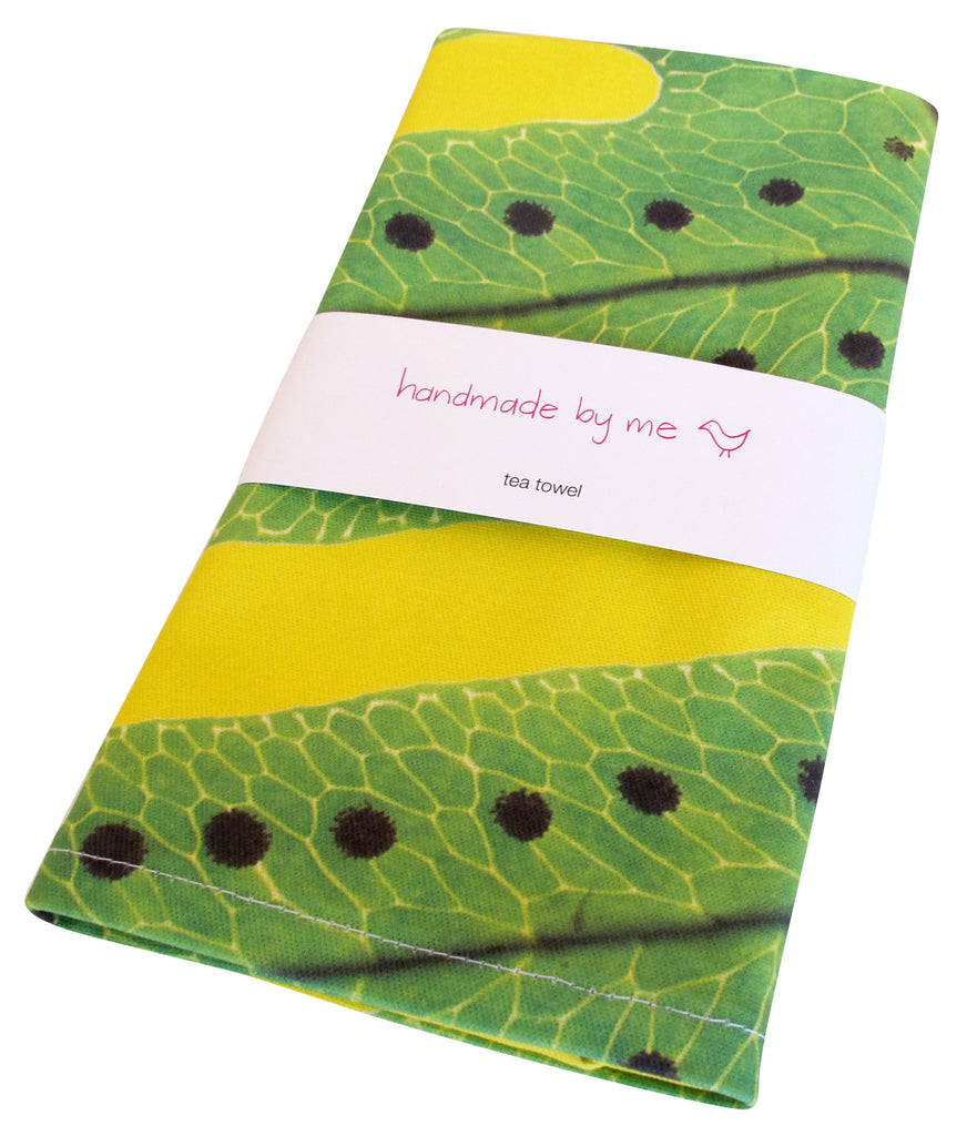 Macro Fern Tea Towel