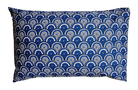 Midnight Blue Mosaic Pillowcase