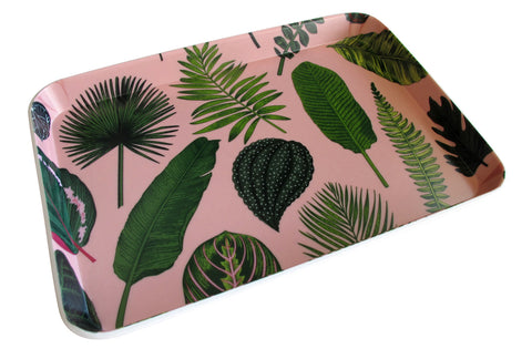 Foliage on Pink Tray MINI