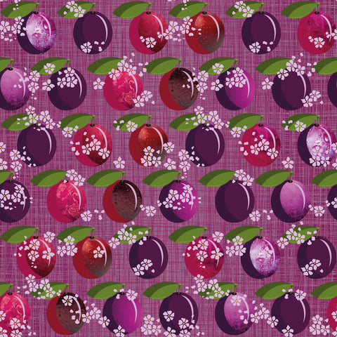 Plum Crazy Wallpaper