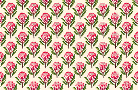 Pretty Proteas Wallpaper