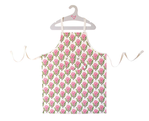 Pretty Proteas Chef Apron
