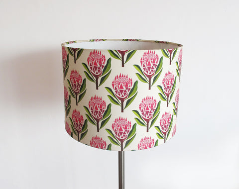 Medium bedside/desk/standing lampshade - various designs