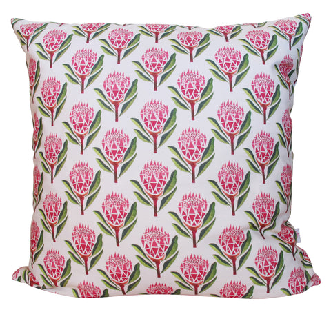 LUX Pretty Proteas Panama Cushion Cover