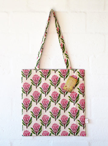 Pretty Proteas Tote Bag