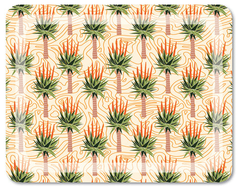 African Aloes Tray Large