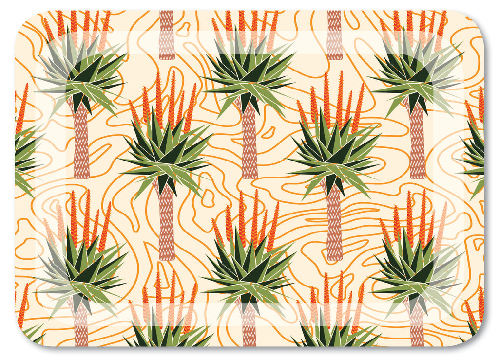 African Aloes Tray Small