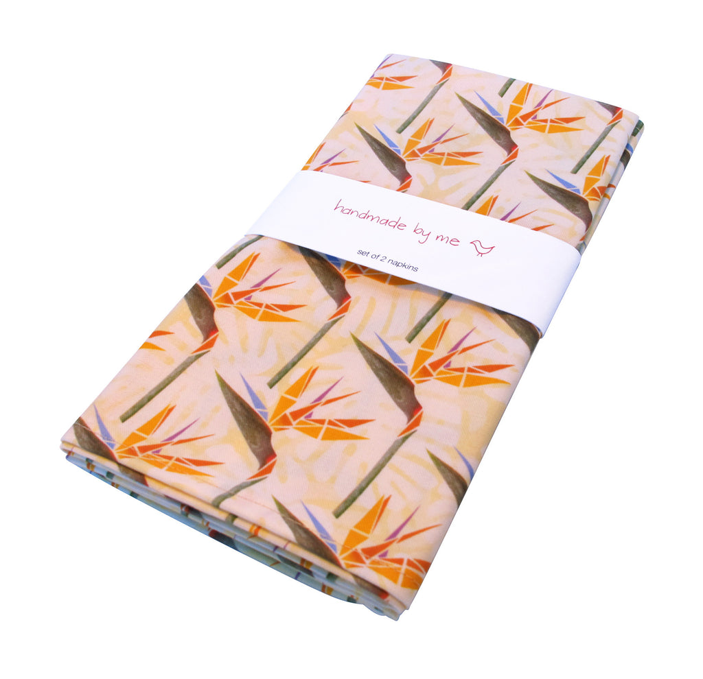 Striking Strelitzias Napkins (set of 2)