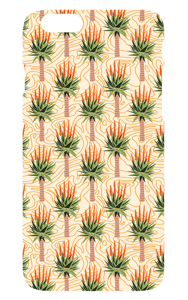 African Aloes Pattern Phone Cover