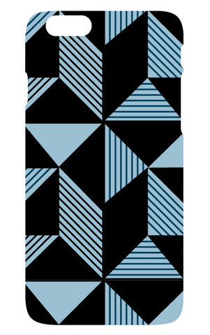 Geometric Navy Phone Cover