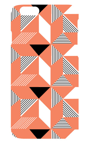 Geometric Orange Phone Cover - iPhone 5/5S - SALE