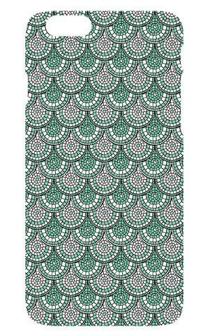 Minty Green Mosaic Phone Cover