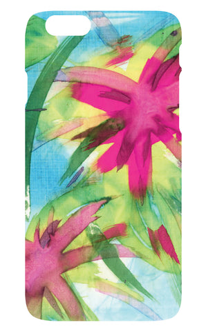 Feisty Floral Watercolour on Blue Phone Cover - Samsung S6 - SALE