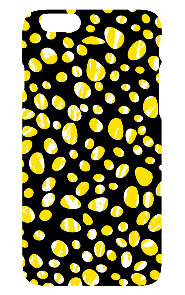 Yellow Pebbles Phone Cover