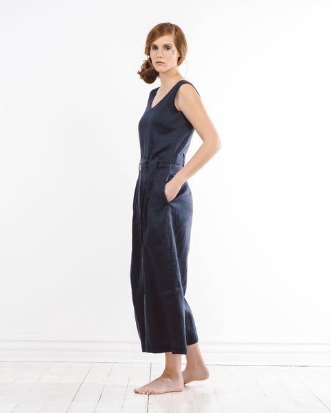 kagi jumpsuit - navy