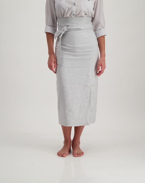 mia skirt - light grey