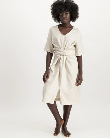 jane dress - natural