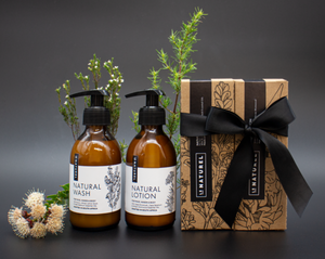 Gift Box - Natural Lotion & Natural Wash Set (2x200ml)