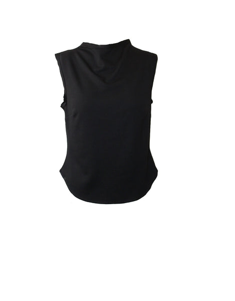 body warmer - black