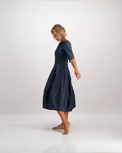 denim ntombi day dress by Lunar