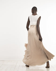 sophisticated odette skirt in stone by Lunar