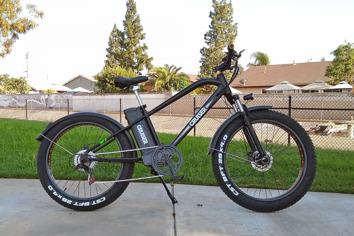 NAKTO 500W Fat Tire Ebike