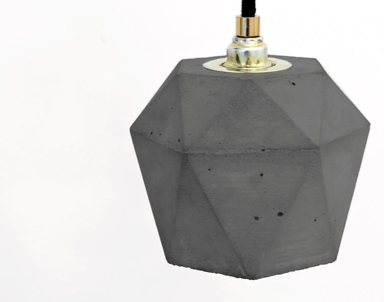 [T2] Concrete Bundle Pendant Light, D40Studio- D40Studio
