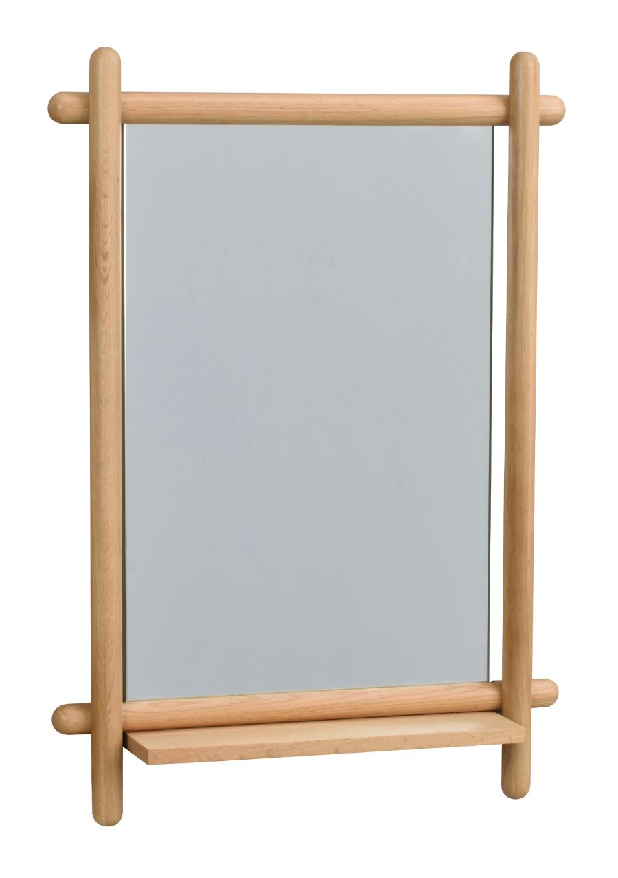 MEMPHIS Mirror with Shelf