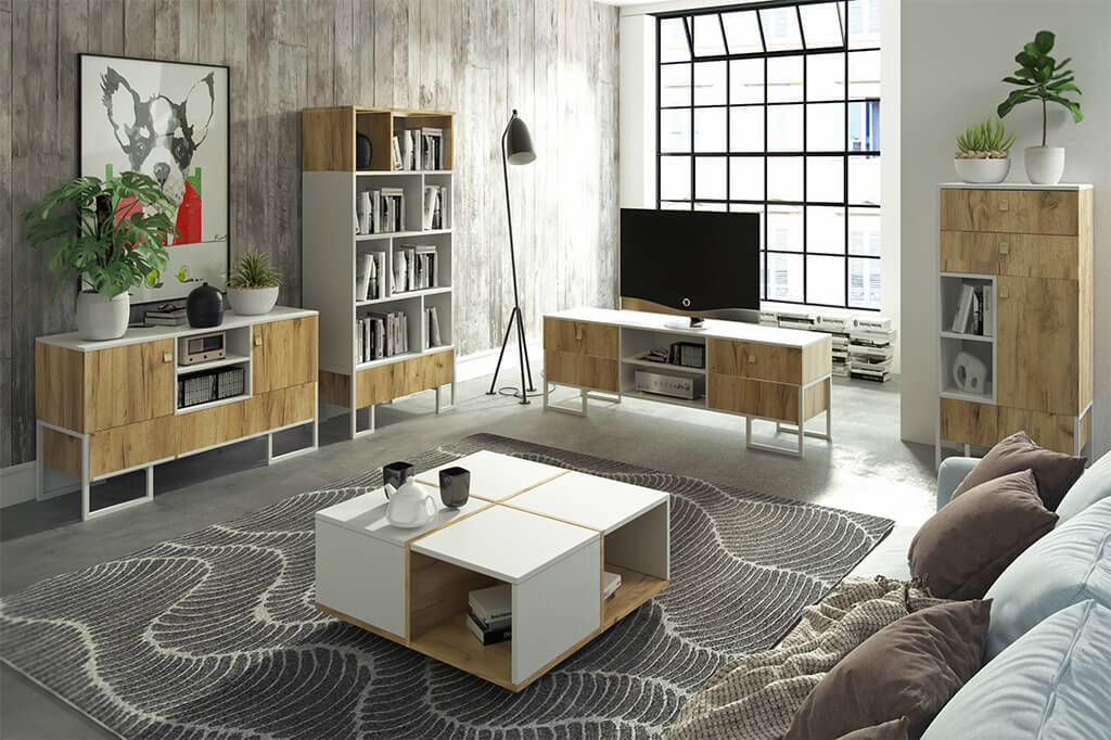 Korsa Coffee Table On Wheels D40studio