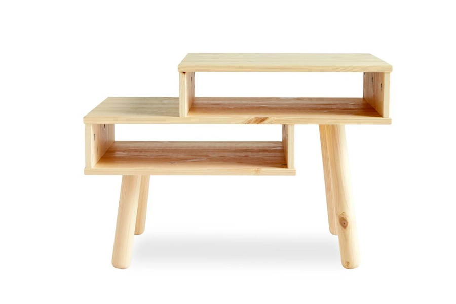 HAKO Natural Bedside Table