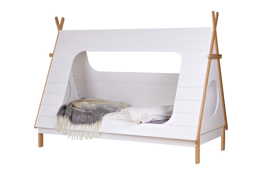 TEEPEE Cabin Kids Bed, WOOOD- D40Studio
