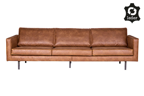 Astounding Loft Cognac Rodeo Leather Sofa 277Cm Download Free Architecture Designs Salvmadebymaigaardcom