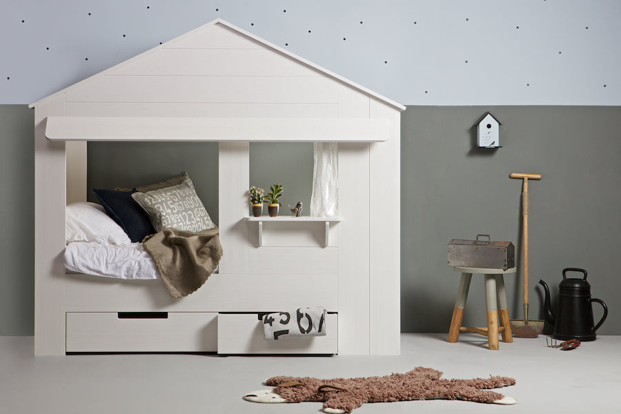 HUISIE CABIN Kids Bed, WOOOD- D40Studio