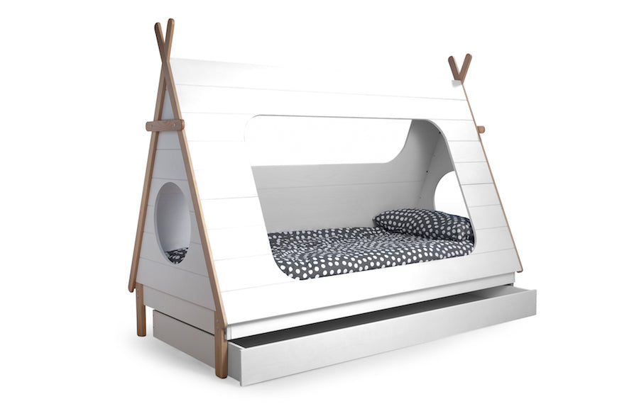 the latest 8812b 25d76 TEEPEE Cabin Kids Bed 215CM